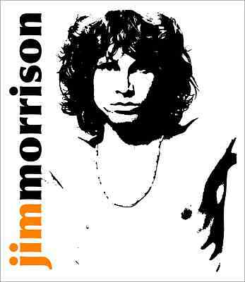 "Jim Morrison The Doors Rock Metal Music Car Bumper Window Sticker Decal 4""X5"""