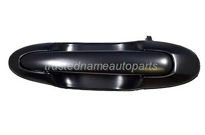 for Mazda MPV Black Smooth Outside Sliding Door Handle Rear Right