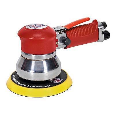 Sealey Air Orbital Sander / Sanding Wood Work Tool With 150mm Pad - GSA07