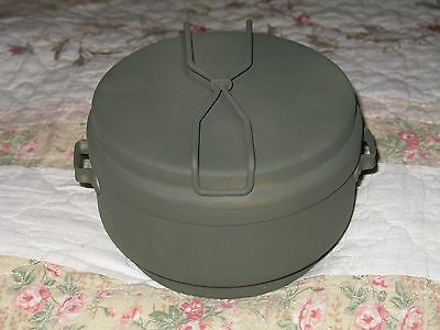 MESS KIT CZECH ARMY 3 PC. ALUMINUM NEVER ISSUED MILITARY SURPLUS CONDITION