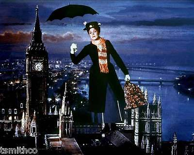 Julie Andrews Mary Poppins 8x10 Photo 001
