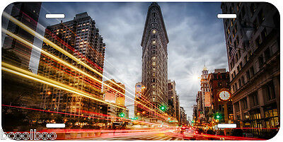 Flatiron Building New York Novelty Car License Plate P14
