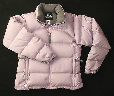 The North Face 700 Fill Goose Down Jacket Lilac Size Women's XS VGC