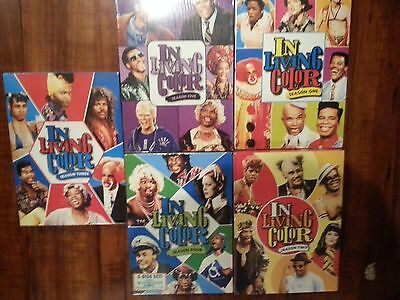 In Living Color: Complete Series Season 1-5 DVD Collection, NEW Free Shipping