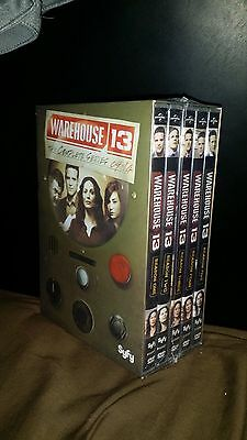 Warehouse 13: The Complete Series, NEW Free Shipping DVD