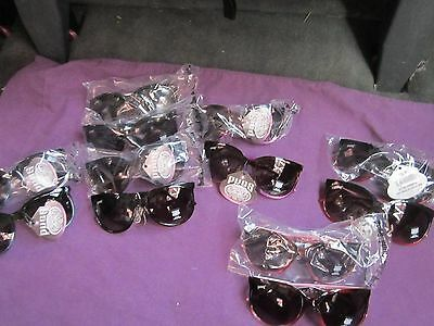 Pugs Sunglasses Lot of 12 #1004 UV400 5 Different Colors $10.99 Each Retail