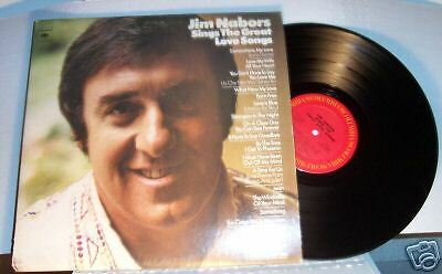 JIM NABORS Sings The Great Love Songs 1972 Born Free The Windmills of Your Mind
