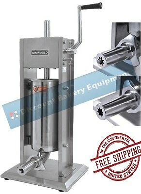 Churro Maker Machine Deluxe Stainless Steel 10lb Capacity, UCM-DL5