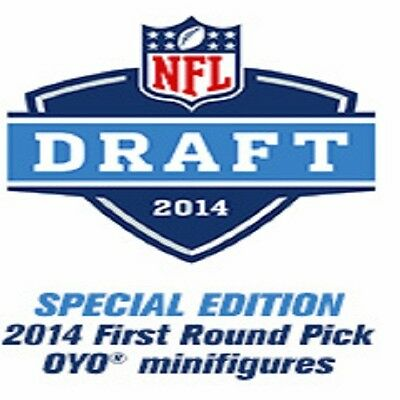 OYO Minifigure 2014 NFL Football Draft Picks - 2 or more Free Shipping to U.S.