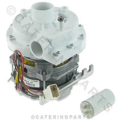 LGB ZF320SX 230V 0.70kW WASH PUMP MOTOR 45mm IN 40mm OUT LAMBER DISHWASHER