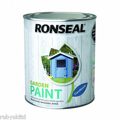 Ronseal Exterior Garden Paint -  250ml 750ml 2.5L Multi Surface Paint
