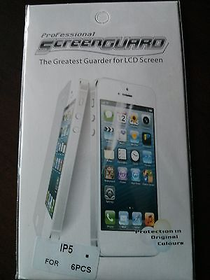 3 Front+3 Back HD Screen Protector Guard Film for iPhone 4 4S Retail Pack