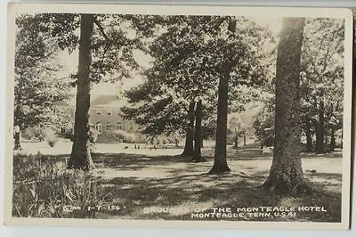 Vintage Grounds Monteagle Hotel Monteagle Tennessee Real Photo Postcard RPPC