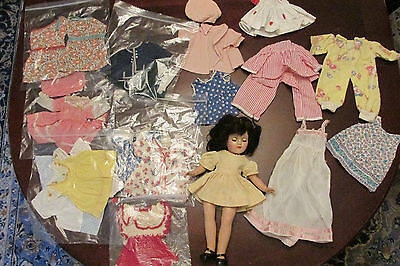 Vintage P-90 Toni Doll by Ideal Original Tagged Dress and extras!
