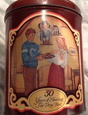 NESTLE Toll House Morsels 50 Years of Memories 1939-1989 Anniversary Tin
