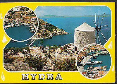 Greece Postcard - Views of Hydra   LC4474