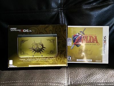 The Legend of Zelda: Majora's Mask New 3DS XL System *AND* Ocarina of Time 3D