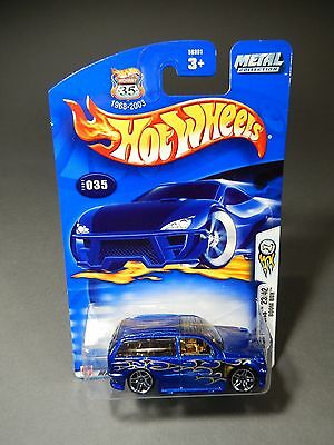 2003 Hot Wheels First Editions BOOM BOX  #23 out of 42 Blue Metallic Version
