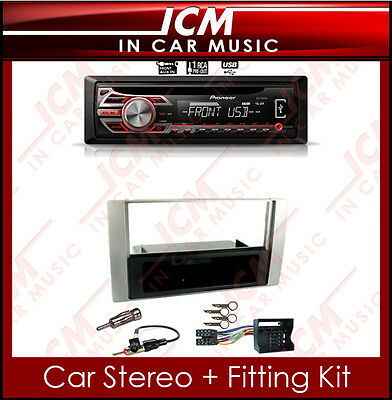 Pioneer MP3 CD Aux-in Player USB iPod iPhone Radio & Ford Galaxy Car Stereo Kit