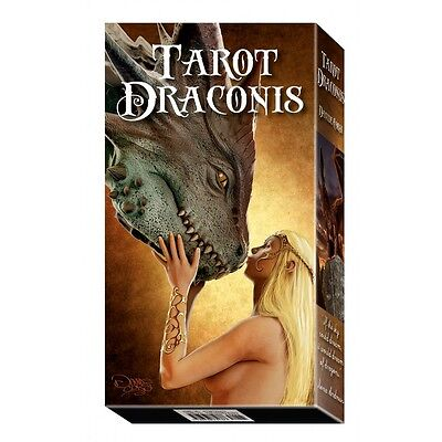 NEW Draconis Tarot Deck Cards Lo Scarabeo Davide Corsi
