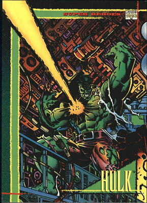 1993 Marvel Universe #1 Hulk - NM-MT