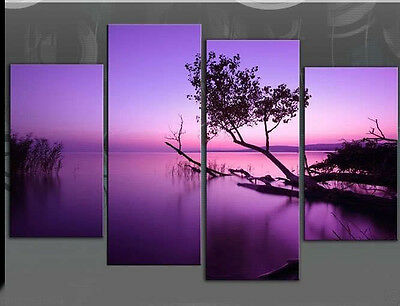 MODERN ABSTRACT WALL DECOR ART CANVAS OIL PAINTING 4pc(NO frame) 84