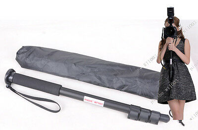 62 inch Lightweight Camera Monopod Portable Unipod For NIKON CANON ETC PS1003