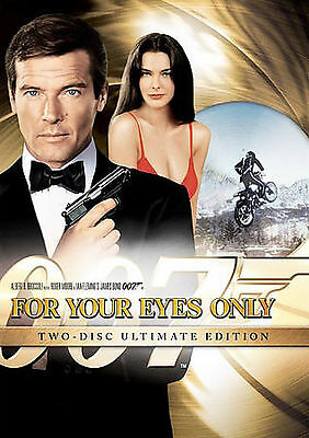 NEW! For Your Eyes Only (DVD, 2008, 2-Disc, W/S, Slipcover Ed.) Roger Moore 007!