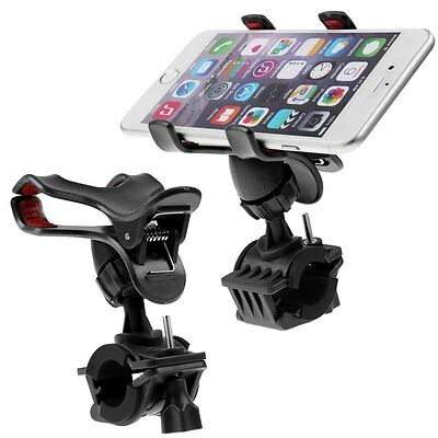 Motorcycle Bicycle Bike Handlebar Mount Holder For Cell Phone LG iPhone 6 GPS