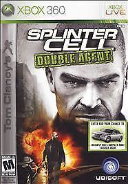 Tom Clancy's Splinter Cell: Double Agent GAME (Xbox)