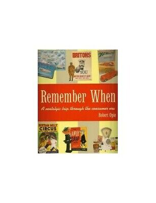 Remember When by Opie  Robert Book The Cheap Fast Free Post