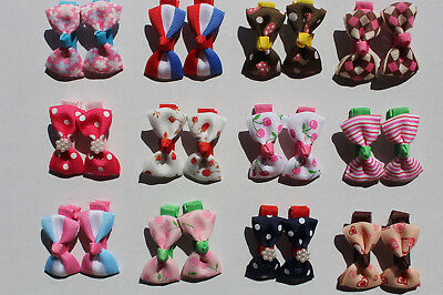 Wholesale 10x (5 pairs) Baby Girl Hair Clips Infant Toddler Hairpin Random