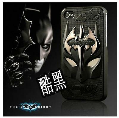 New Deluxe 3D Cool Batman Hard Back Skin Case Cover For iPhone5 5S BF01-6