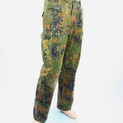 German army camouflage combat trousers camo cargo pants army military flecktarn