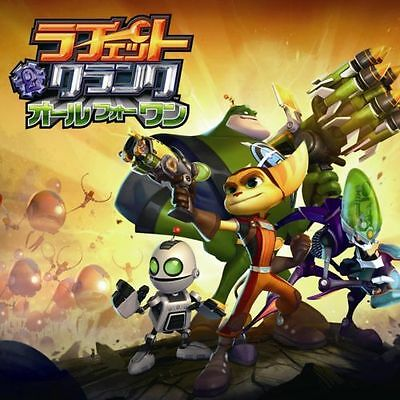 Used PS3 RATCHET AND CLANK: ALL 4 ONE JAPAN