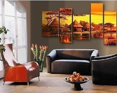 HOT*MODERN ABSTRACT HUGE WALL ART OIL PAINTING ON CANVAS