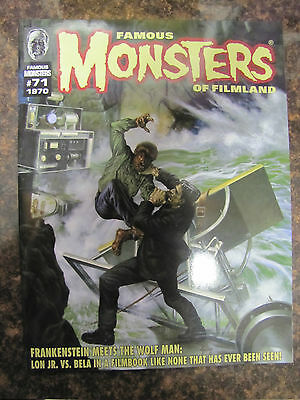 Famous Monsters # 71 Uncirculated Frankenstein Meets The Wolf Man