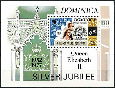 Dominica 1977 Royal Visit MNH M/S #R468