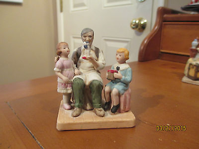 Norman Rockwell Figurine-The Toymaker-1984 from the Norman Rockwell Museum