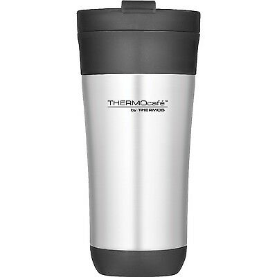 Genuine Thermos Thermocafe Challenger 425Ml Stainless Steel Travel Tumbler New