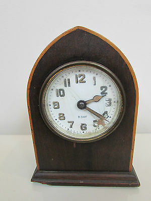 ANTIQUE VINTAGE SETH THOMAS 8 DAY BEEHIVE GOTHIC MANTLE CLOCK