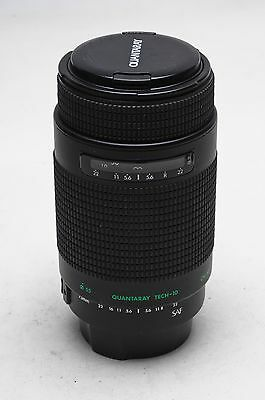 Quantaray AF 75-300mm f4-5.6 Tech 10 MC Lens Canon EF                       #221