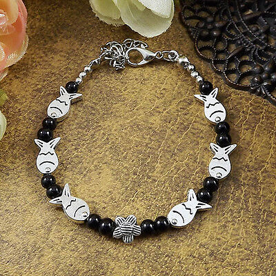 HOT Free shipping New Tibet silver multicolor jade turquoise bead bracelet S64