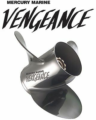 Mercury Vengeance 3-Blade Stainless Steel Propeller 14 x 19 Pitch Prop