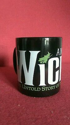 Broadway musical WICKED souvenir coffee mug.  Not made anymore!