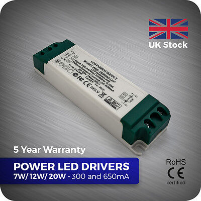 7W 12W 20W 28W 40W 42W Constant Current LED Driver Power 300ma 600ma 800ma 1A