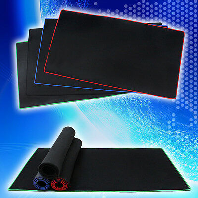 New Black 60x30cm Large Long Gaming Mouse Pad Mat For CS CF WOW Laptop Computer