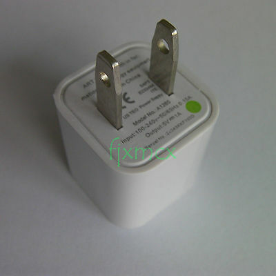 travel A1265 Power Safe USB Wall Charger Adapter For Phone iPod US AC Plug 37c