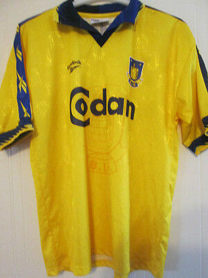 Brondby 1997-1998 Home Football Shirt Size Large /35473