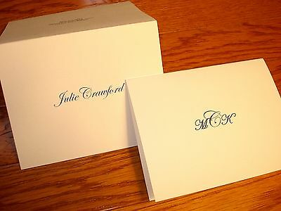 50 Personalized Note Cards Thank You Cards Blank Note Cards NICE GIFT FOR WOMEN!